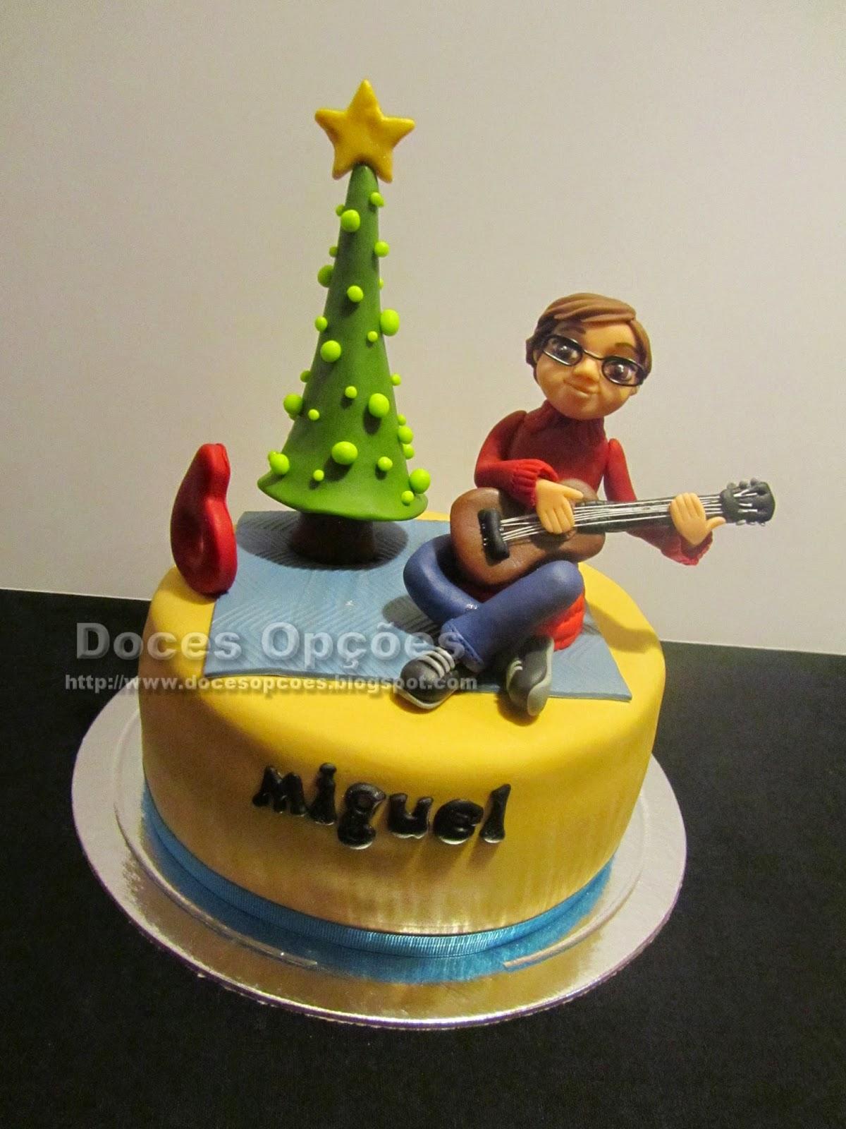 Bolo de aniversário do Miguel