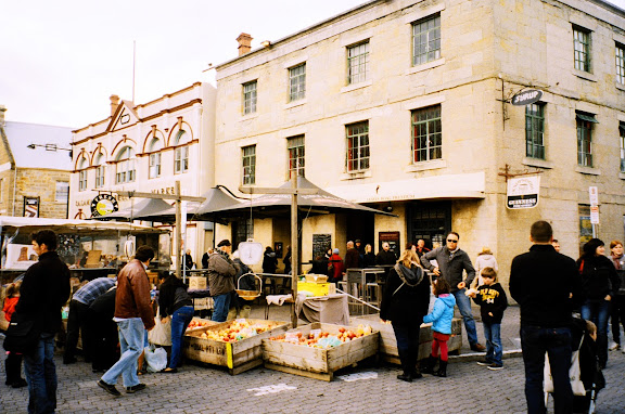 Hobart Tasmania Salamanca Markets