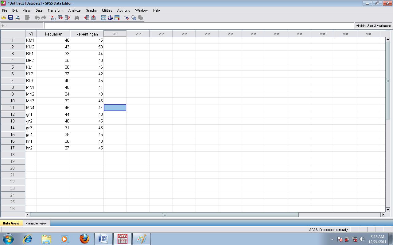 Royanisa analisis kuadran spss 3 langkah pertama dalam run kuadran adalah klik menu graphs seperti gambar di bawah kemudian sorot legacy dialogs klik scatterdot akan muncul jendela ccuart Image collections