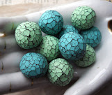 My Faceted Polymer Clay Bead Tutorial at the Sculpey Website!