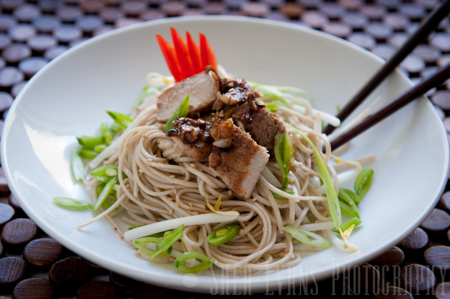 Ginger Sugar-Snap Pea Soba Salad with Five-Spice Pork ...