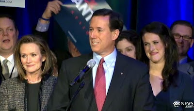 Rick Santorum wife and daughter