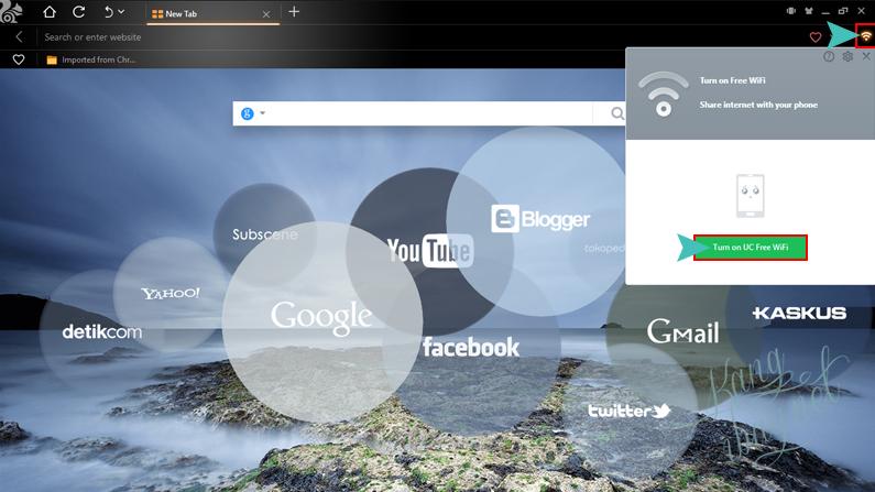 posisi virtual wifi