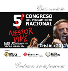 5to Congreso de Pensamiento Nacional: Nestor Vive