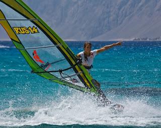 windsurfing girl 2013