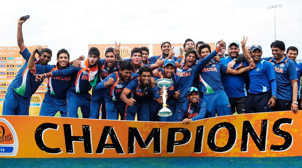 india winning the 2012 cricket world List of icc under 19 cricket world cup winners most successful team of this u19 cricket world cup is india and australia who became the 2012: australia: india:.
