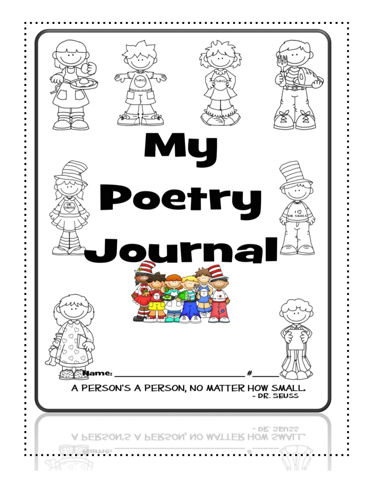 Poetry Book Cover Version : Just teachers sharing across borders back to poetry