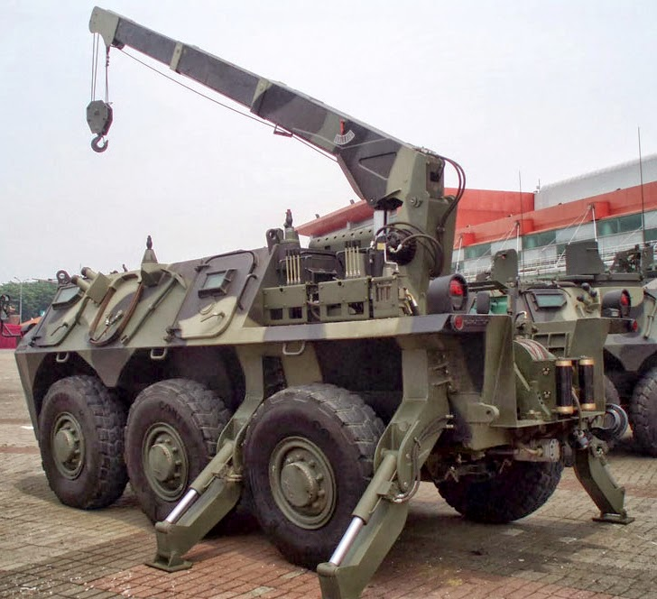 Panser Anoa 6x6 Armoured Recovery Vehicle