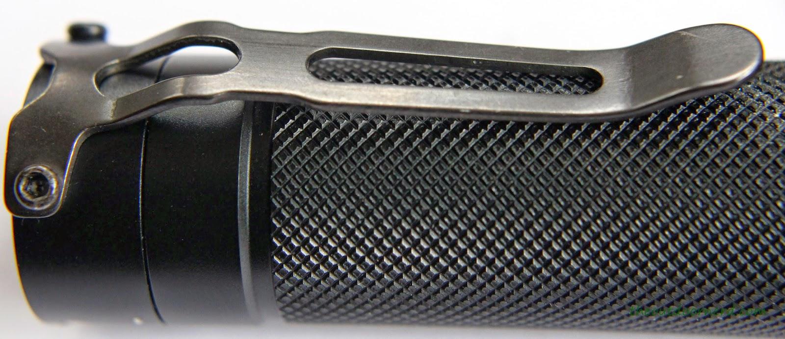 EagleTac D25LC2 Mini 18650 Flashlight Clip 1