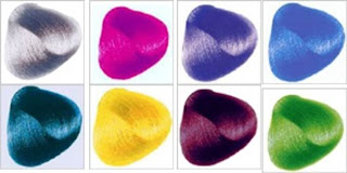 Renbow colour swatches