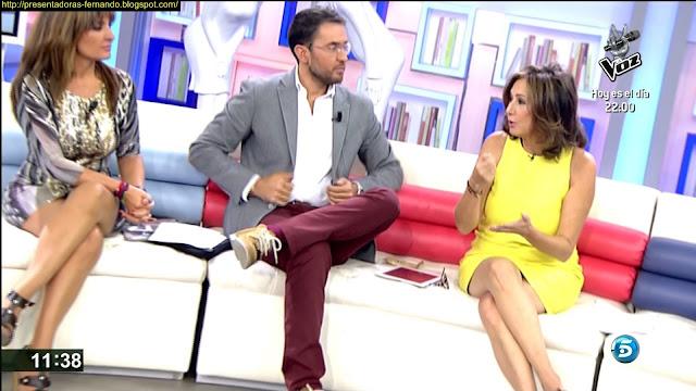 Ana Rosa Quintana piernas
