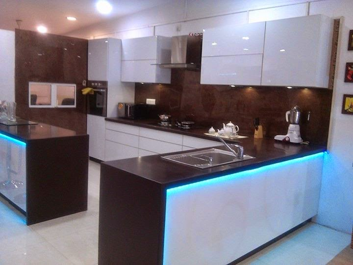 Small kitchen design pictures best kitchen designs in for Best material for kitchen cabinets in india