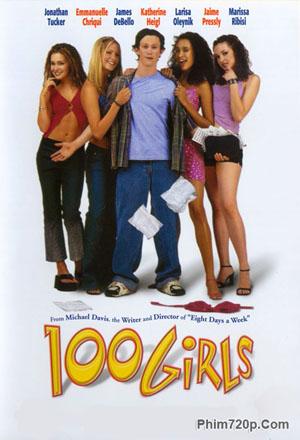 100 Girls 2000 poster