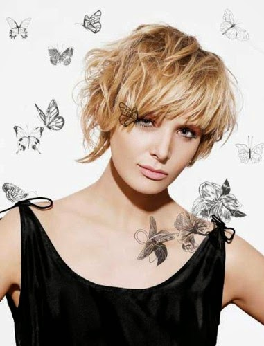Short Hairstyles For Round Faces Young : Short hairstyles for women with round faces a crown made of ivy