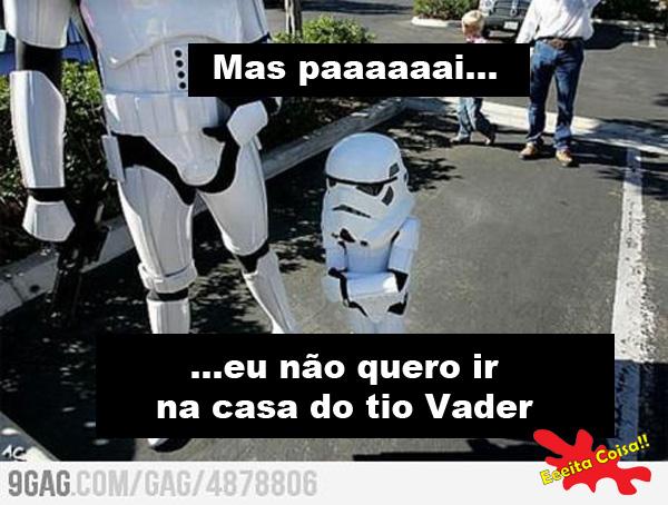 vader, tio, stormtrooper, star wars, eeeita coisa