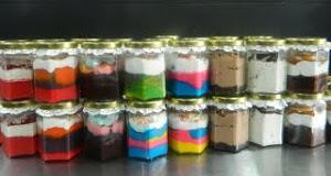 Kelas DIY - Cake in Jar - RM350