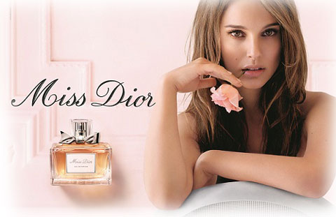 Miss Dior Eau Fraiche campaign featuring Natalie Portman