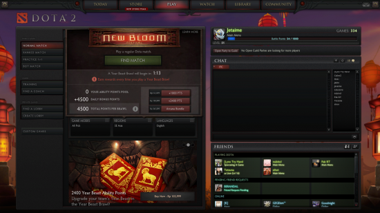 How to see matchmaking rating dota 2