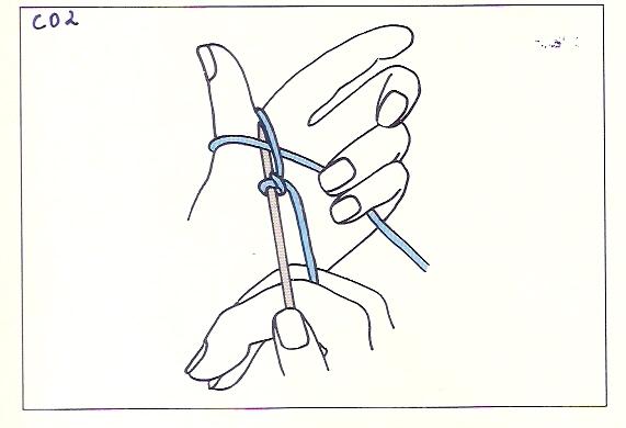 Knitting How To Cast On Thumb Method : Nityas knits quoin casting on thumb method