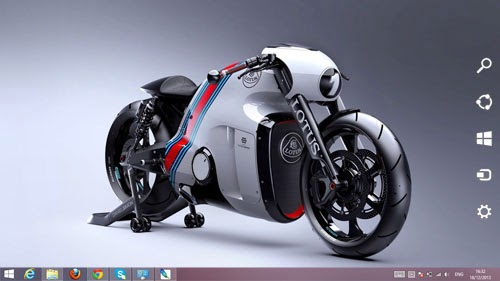 Lotus C-01 Theme For Windows 7 And 8 8.1