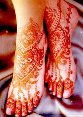 New Feet Mehndi Design For Eid