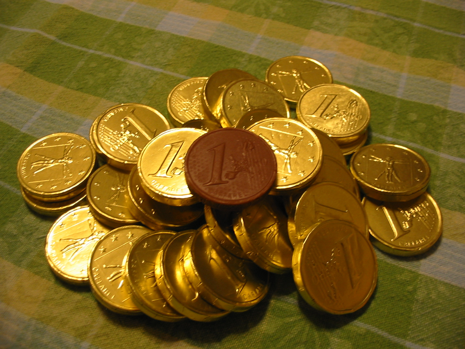 The Chocolate Cult: Gold Chocolate Coins for Han