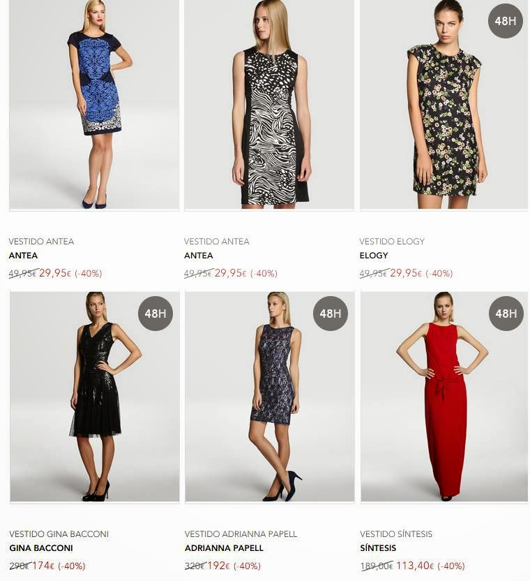 6 vestidos El Corte Ingles Black Friday 14