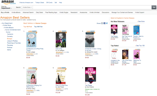 Confessions of a Paris Potty Trainer #1 Amazon Best Seller in Humor Essays