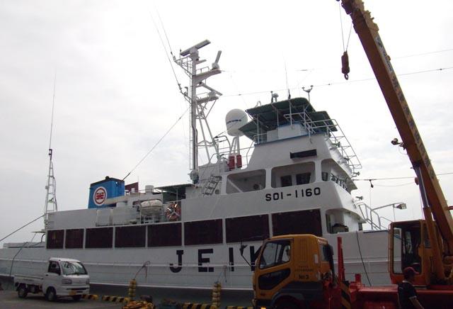 illegal fishing dgn kapal besar