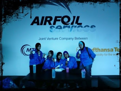 Training at Airfoil ♥ (●̮̮̃•̃)..(●̮̮̃•̃)… /█\ ♥/█\