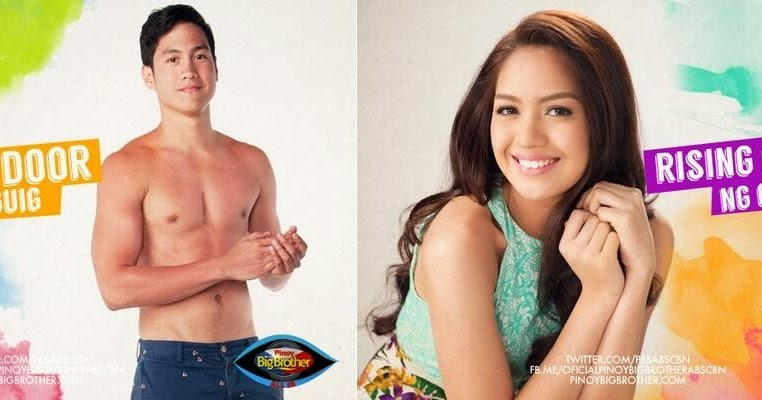 Axel Torres and Jane Oineza Enters Pinoy Big Brother House