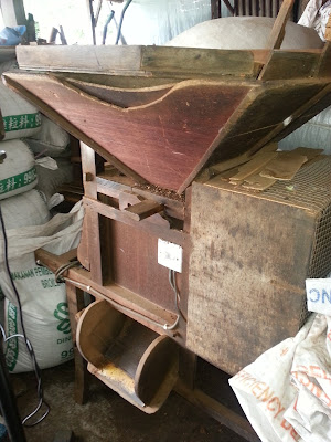 Coffee Peeling machine
