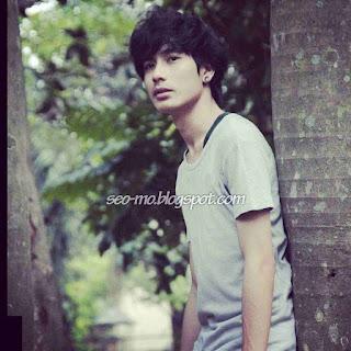 Foto Evan Marvino berambut Pendek
