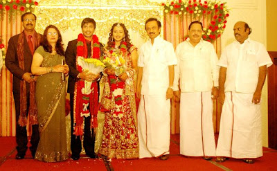 Actor Vishnu marriage Photos