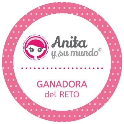 He ganado el reto de Anita y su mundo!