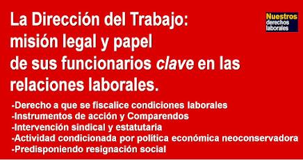 La Dirección del Trabajo y el papel de sus funcionarios clave en las relaciones laborales