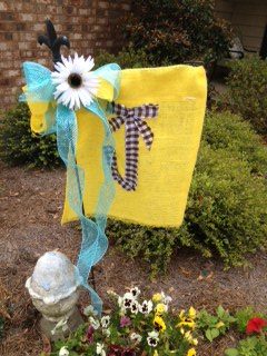 Meg The Mama Summer Garden Flag