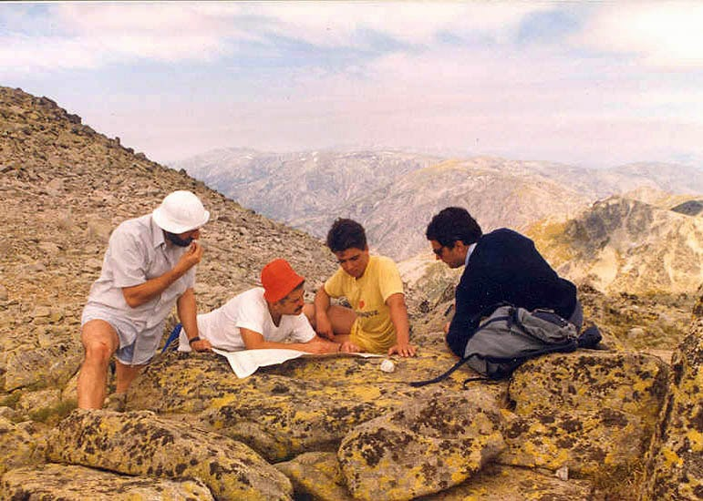 La Galana, Gredos, 1986