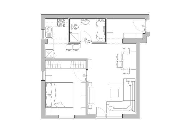 Attractive And Contemporary Apartment Design