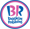 Logo of Baskin Robbins, franchise based ice cream and desserts brand