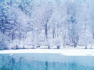 Snijeg rijeka zima download besplatne pozadine slike za mobitele