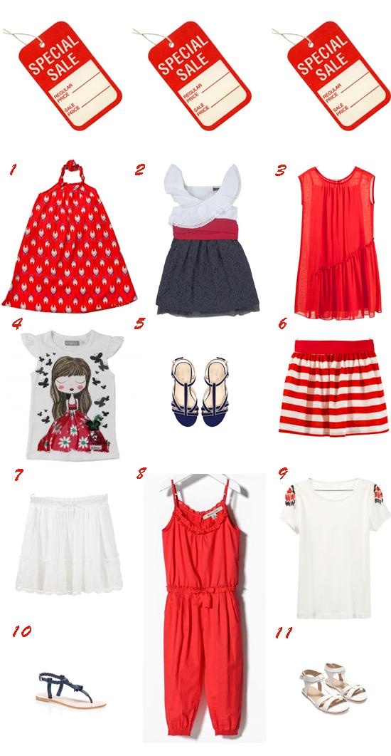 selección de moda de pequeña fashionista