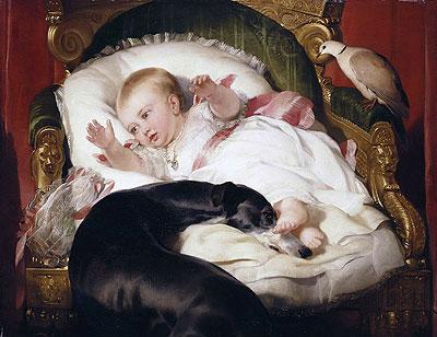 Victoria princesa real. Sir Edwin Landseer