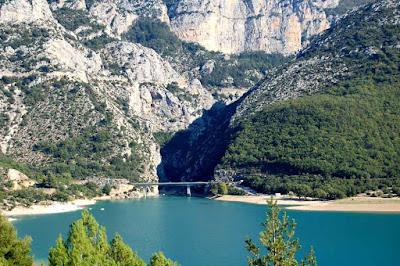 Canyon Gorges du Verdon – França