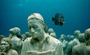 Meksika Sualtı Heykel Müzesi