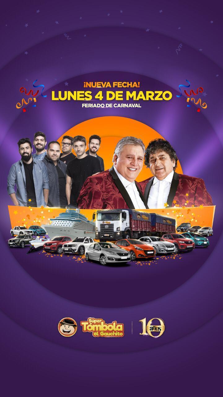 """SUPER TÓMBOLA """"EL GAUCHITO"""" - MONTE MAÍZ"""