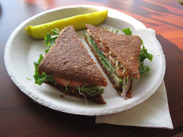 Vegan Raw Sandwich - Veega - Cape Cod