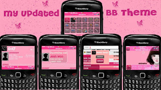 1 111116113F70 L Cute Girl pink theme for blackberry 8520,9300 os5.0