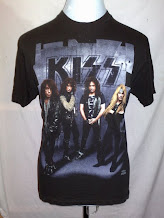 vtg KISS 90's band shirt