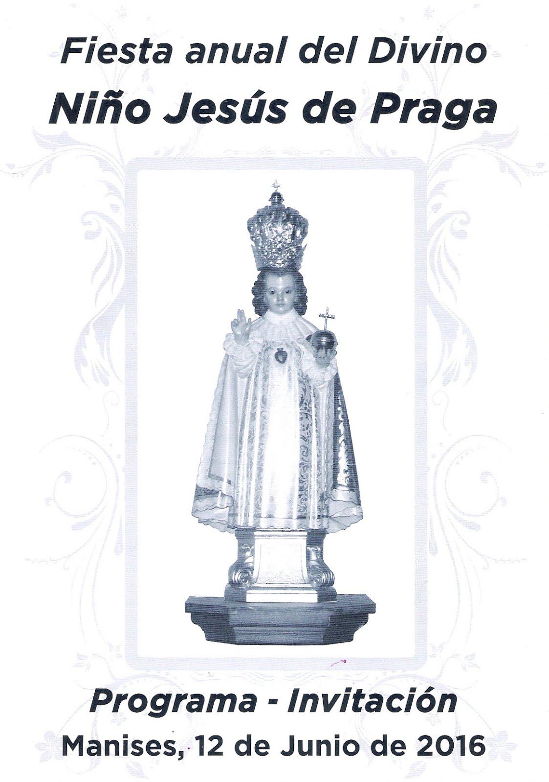 12.06.16 SOLEMNE FIESTA AL DIVINO NIÑO JESÚS DE PRAGA EN MANISES
